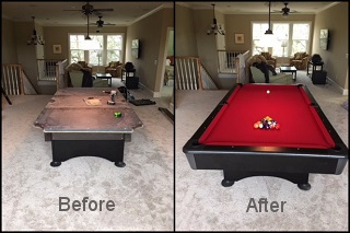 pool table refelting pool table felt in los angeles content