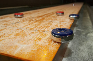 SOLO® Shuffleboard Movers Los Angeles, California.