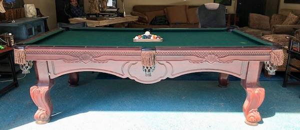 Solo 174 Thousand Oaks World Of Leisure Billiards Table 175