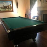 Pool Table Includes Cue Sticks and Balls