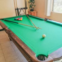 MD Sports Pool Table 8' Billiards Table