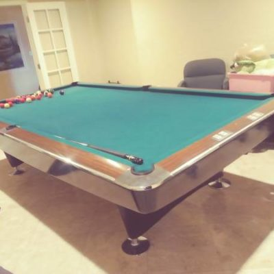 Snooker 10 Foot Brunswick Billiard Table Pool