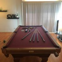 Cal Spas Camelot Gold Collection Pool Table
