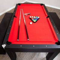 Hathaway Games Park Avenue 10 Piece 7' Pool Table Combo Set