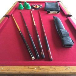 4'x8' Solid Pool Table