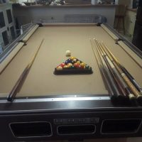 8' Pool Table With Supplies