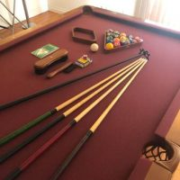 Camelot Gold Collection Pool Table