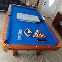 Billiard Pool Table 7 ft with Extras