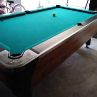 Dynamo Coin System Pool Table