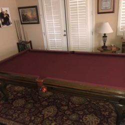 Beautiful Pool Table w/Ping Pong Conversion