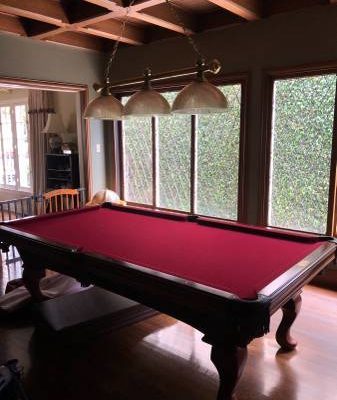 High End Pool Table