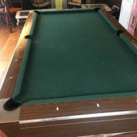 Fisher Slate Pool Table and Accessories