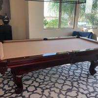 Beautiful 8' Pool Table For Sale