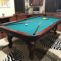 Olhausen 7' foot pool table